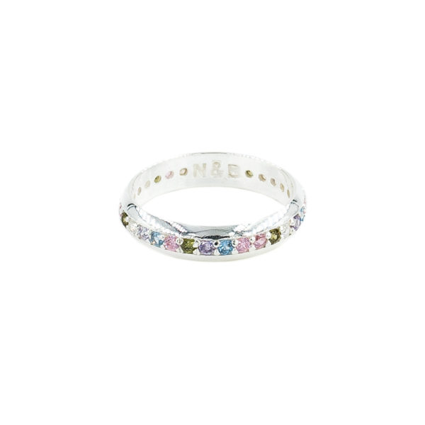 eternity multicolor plata